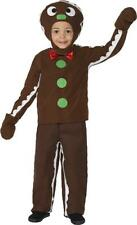 Christmas Childrens Fancy Dress Baby & Toddlers Little Gingerbread Man Costume