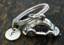 PERSONALIZED Volkswagen Keychain - choose your Initial, Volkswagen Lover Gift