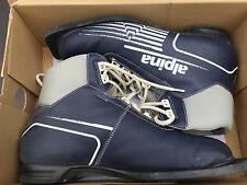 Alpina Cross Country Ski Boots US Men's Size 10 European size 43 Nordic XC