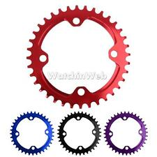 104mm BCD MTB Race Road Speed Bike Single Narrow Wide Chainring 36T Chain Ring