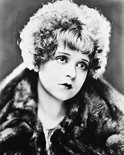 Clara Bow B&W Poster or Photo