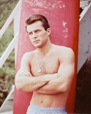 Robert Conrad Color Poster or Photo Barechested Hunky Beefcake