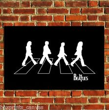 THE BEATLES ABBEY ROAD POSTER POP ART WALL PRINT PICTURE LARGE A4 A3 A2