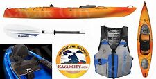 Wilderness Systems Pungo 120 Kayak - Deluxe Package - Mango