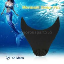 Portable Diving Monofin Swimming Foot Flipper Mermaid Swim FinFor Kid/Adult D8E3