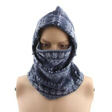 Double-sided Fleece Windproof Bike Winter Full Face Mask Cover Cap 4 Color