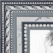 ArtToFrames 1 Inch Ornate SIlver Wood Picture Poster Frame 80801 SM
