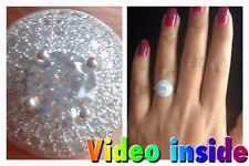 1.8CT Brilliant Cut Ring Engagement Ring Fine Jewellery Rings Silver Precious6*