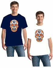 Chicago Bears Skull T-shirt Different colors to choose  Free Shipping!