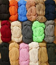 5 METRES 3mm POLYESTER CORD,ROPE,STRING VARIATIONS COLOUR >P&P FREE&FAST FROM UK