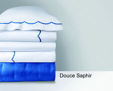 YVES DELORME DOUCE PILLOW SHAM IN SAPHIR COLOR