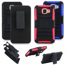 Hybrid 3 in 1 Armor Belt Clip Hard Holster Case Cover Hard Stand For Cell Phone