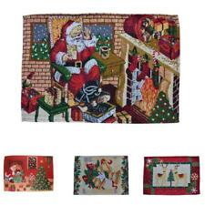 Christmas Decoration Table Placemats Mats Dining Table Pad Xmas Design Decor