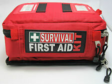 Survival 25-Person Comprehensive First Aid Kit in Red