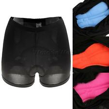 Mens Womens 3D Padded Bike Shorts Biking Cycling Short Pants Size S-XXL