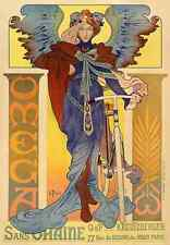 Vintage bicycle art Poster Omega Vintage French Bicycle art