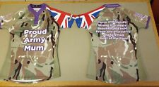 Proud Army Mum Pro fit Rugby shirt, ideal for Army v Navy Rugby Game, unofficial