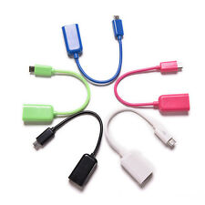 OTG USB Cable Adapter For Mobile Phone With Micro Male to USB 2.0 Female Jack EC
