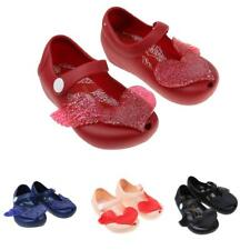 BABY KIDS INFANTS GIRLS CUTE HEART JELLY SHOES SUMMER BEACH SANDALS RAIN SHOES