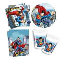 Superman Partyware - Plates,Cups,Napkins,Table Cover