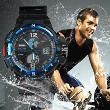 1148 Skmei Hot Sell Men Sports Double Dial Dispaly Watch Water Resistant rGN