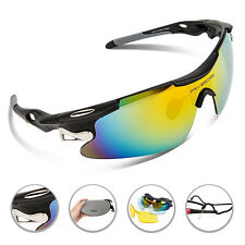 RIVBOS Polarized Sports Cycling Glasses Eyewear Bike Goggles Fishing Sunglasses