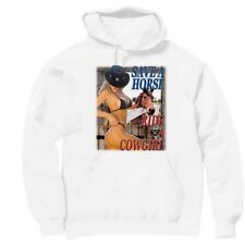 Pullover Hooded Western Sweatshirt Country Save A Horse Ride A Cowgirl