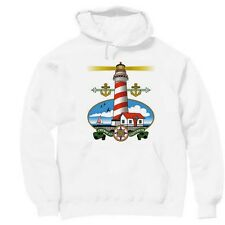 Pullover Hooded hoodie country sweatshirt Lighthouse light house