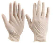 Click 2000 Latex Powder Free Disposable Gloves 100 Pack All Sizes EN455-1