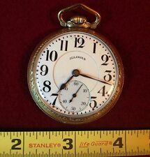 "1925 ILLINOIS POCKET WATCH ""BUNN SPECIAL"", 21 J. - ILLINOIS 10K GOLD FILLED CASE"