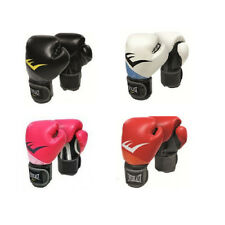 Everlast Boxing Gloves Bag Sparring Black Red Pink Purple Adult Kids