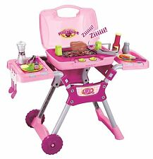 CHILDS ELECTRONIC BBQ KITCHEN COOKING COOKERY SET TOY WITH LIGHTS & SOUNDS