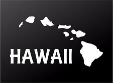 Hawaiian Islands Vinyl Decal Hawaii Aloha Car Window Laptop Surf Sticker