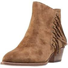 Ash Lenny Baby Soft Womens Ankle Boots Brown New Shoes