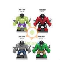 160-163 189-190 Big hulk gray hulk green hulk red hulk White Deadpool figure