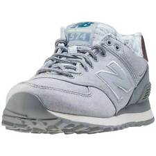 New Balance Wl574 Womens Trainers Silver New Shoes