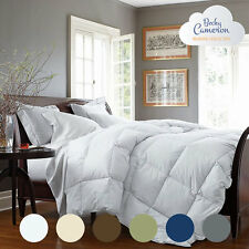 Quality Alternative Down Fiber Luxury Comforter Ultra-Plush Overfilled 6 Colors