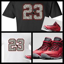 OUR EXCLUSIVE TEE SHIRT TO MATCH NIKE AIR JORDAN BREDS OR BULLS OVER BROADWAY!
