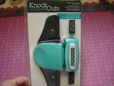 KNOCK OUTS BORDER PUNCH SYSTEM SET SCRAPBOOK AMERICAN CRAFTS