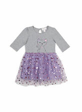 Pumpkin Patch Baby Girls Kitten Print Tulle Dress - Sale