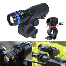 1200LM Cree Q5 LED Cycling Bike Bicycle Head Front Light Flashlight+360 Bracket