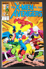 X-Men vs Avengers #1 & #2  1987    NM  High Grade Marvel Comics