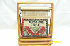 Table Top Weaving Loom With Bless Our Home Very Nice Decorative