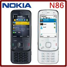 Nokia N86 Original Unlocked GSM 3G mobile phone WIFI 8MP 8GB internal storage