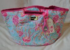 LILLY PULITZER Insulated Beverage Bucket JELLIES BE JAMMIN Cooler Bottle Opener