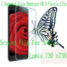 PVC Tempered Glass Screen Protector Film Cover Skin For Nokia Lumia 730 N730 NEW
