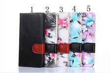 Broken pattern PU Leather Wallet Stand Case Cover Protector FOR Samsung phone