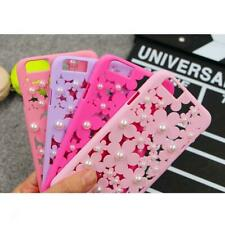 Hollow Out Bling Daisy Flower Pearl Case Cover Bumper Shell for iPhone 6 6 Plus