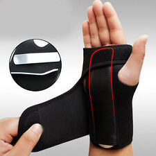 Splint Sprains Arthritis Band Carpal Tunnel Hand Wrist Support Brace Useful