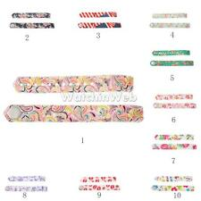 13g Silicone Rubber Sport Watch Band Strap Wristband for Smart Watch 10 Colors